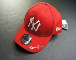 POLO RALPH LAUREN x MLB Collection Yankees NY Cap Limited Edition Red L NWT
