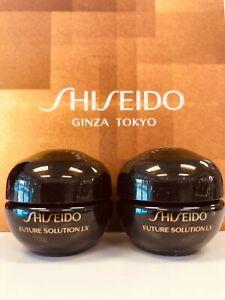 2 x Shiseido Future Solution LX Total Regenerating Night Cream 6ml each = 12ml
