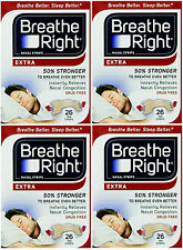 "Breathe Right EXTRA  ""50% stärker""  104 Nasenpflaster in hautfarb.- besser atmen"