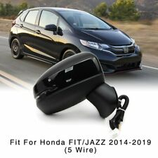 Right Side Mirror for Honda Fit Jazz 2014-2019 Electric with Turn Light 5 Wire