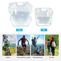 5L 10L Folding Collapsible Water Storage Bag Outdoor Camping Picnic Container AU