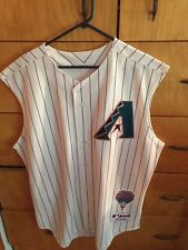 $225 AUTHENTIC 2001 Diamondbacks Home Jersey size 50