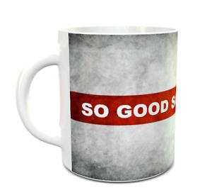 England mug  SO GOOD SO GOOD SO GOOD 11oz ceramic mug
