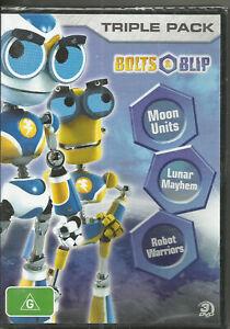 BOLTS & BLIP (Robot Warriors DVD)(Lunar Mayhem)-( Moon Units)( 3 Disc set)( RARE