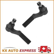 2X Front Outer Steering Tie Rod End for Ford Van E-150 E-250 E-350 E-450