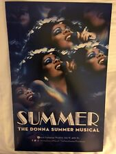 Donna Summer-Summer-Broadway Window Card! Last One!!