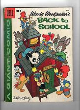 Woody Woodpecker Back to School #6 (Oct 1957, Dell) - Good-