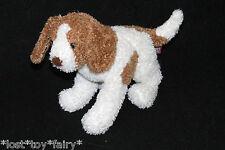 "Douglas Cuddle Beagle Brown White Puppy Dog Plush Stuffed Shaggy Small Toy 8"""