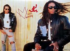 Milli Vanilli 1990 Original Vintage Store Poster