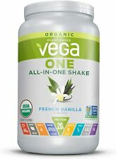 Vega One Organic Meal Replacement Plant Based Protein Powder, 1.51 lbs Exp 2022