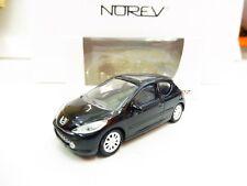 """Peugeot 207 3P Noir 1/64 3 Inches NOREV  Produit NEUF !! """"PORT Groupés"""""""