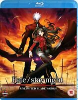 Fate Stay Night: Unlimited Blade Works [Blu-ray] [DVD][Region 2]
