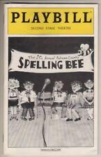 """William Finn """"Spelling Bee""""  Playbill  2005 Off-Broadway  Jesse Tyler Ferguson"""