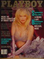 Playboy August 1986 | Brigitte Nielsen Ava Fabian Olivia De Berardinis 1189+