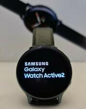 Samsung Galaxy Watch Active 2 SM-R820, 44mm Edelstahl schwarz, zweites Armband