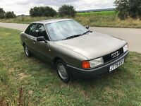 Audi 80 S 1991 B3 1.8 Petrol 44k miles Auto *GREAT CONDITION* Classic