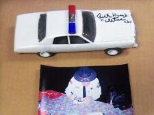 Rick Hurst, Dukes of Hazzard, Signed Police Car, ASSEMBLED MODEL w/Photo