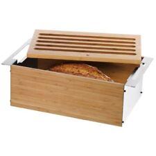 WMF Brotkasten Gourmet | Brotkorb Brot Aufbewahrung Brotbox mit Schneidbrett NEU