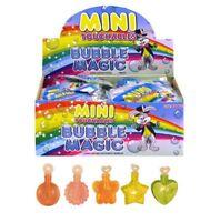 1-48Pc Mini Touchable Bubbles Kids Loot Goody Party Bag Fillers Touch Bubbles