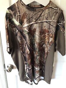 Realtree AP Men's Camo Short Sleeve Crew T-Shirts XL