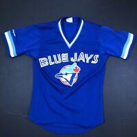 TORONTO BLUE JAYS MAJESTIC JERSEY Men  Size M MLB VINTAGE 80'S 90'S Rare