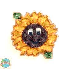 Cross Stitch Kit ~ Summertime Happy Sunflower Buddy #K023