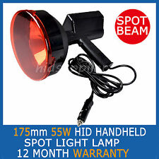 "55W 175mm HID XENON 7"" Handheld SPOTLIGHT HUNTING SHOOTING SEARCH FOX CAMPING"