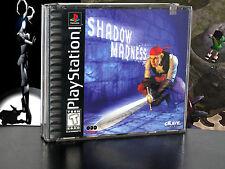 SHADOW MADNESS GIOCO USATO COME NUOVO SONY PSX PS2 PS3 EDIZIONE AMERICANA TK73