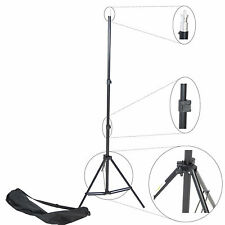 Trépied pour Studio DynaSun W803 220cm Support de Fond Pied Photo Video avec Sac