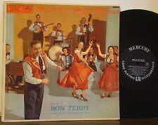 RON TERRY Music for Happy Dancers RARE 1956 1ST PRESS DG MERCURY Slovenian Polka