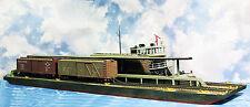 169' TWO TRACK STATION FLOAT HO Model Railroad Waterline Hull Resin Kit FR151