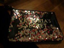 Victoria's Secret Sequin Makeup/Cosmetic Beauty Bag