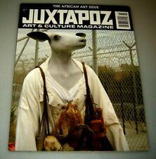 Juxtapoz Arts & Culture Magazine Newsstand Cover #94 Nov 2008 AFRICAN ART ISSUE
