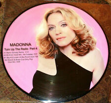 "MADONNA MDNA TURN UP THE RADIO LIMITED PICTURE 12"" VINYL"