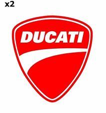 2x DUCATI Aufkleber Motorrad  Sticker Vinil Decal 256