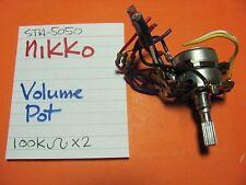 NIKKO STA-5050 RECEIVER VOLUME POT 100Kx2