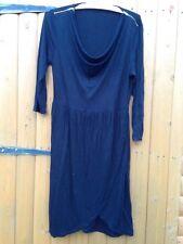Little Black Dress Peplum Pleated Hourglass Shape Dip Hemmed 12