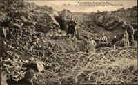 Militär Militaria Guerre War I. CPA Sprengung Schützengraben bei Marcheville