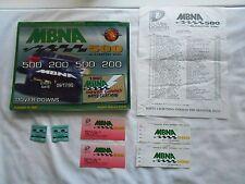 VINTAGE MBNA 500 DOVER DOWNS SOUVENIR MAGAZINE & TICKETS--SEPT 17,1995--NASCAR