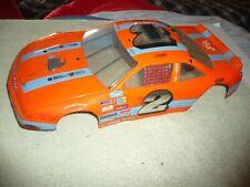 Vintage Rc car  team associated rc10L  carpet racing hyper NASCAR BODY