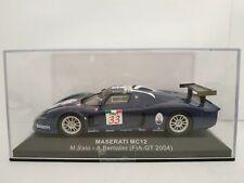 1/43 maserati mc12 FIA GT 2004 salo Bertolini ixo altaya scale scale diecast