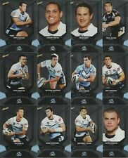 2011 NRL SELECT CHAMPIONS CRONULLA SHARKS SILVER PARALLEL TEAM SET 12 CARDS