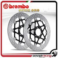 Coppia dischi Brembo Serie Oro flottanti Triumph Speed Triple 1050 S 2008>2010