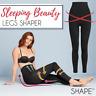 Women Sleeping Beauty Leg Shaper High Waist Tummy Control Sleep Legging Stocking