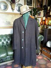 Vintage 50's 60s Burton Crombie Showerproof Blanket Lined Car Over coat.Large vg