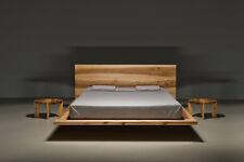 MOOD Designerbett Doppelbett Schwebebett matino holz 120 140 160 180 bett design