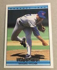 Nolan Ryan Donruss 1992 #707 Texas Rangers Baseball Card