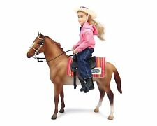 Breyer Classics Western Horse and Rider 1:12 Scale - No. 61070