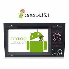 Android Autoradio 2 Din DVD Player GPS Navigation für Audi A4 S4 Seat Exeo