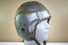Vtg Antique ADULT Leather Suspension Game Used Detroit Lions Football Helmet